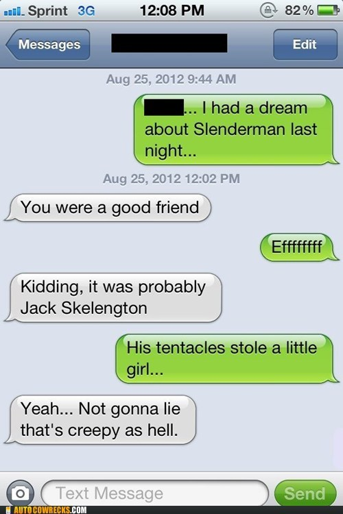 dreams,iPhones,nightmares,slenderman,tentacles,Terrifying