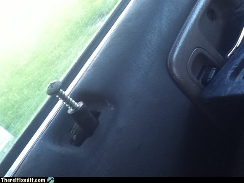 car door,door lock,screw