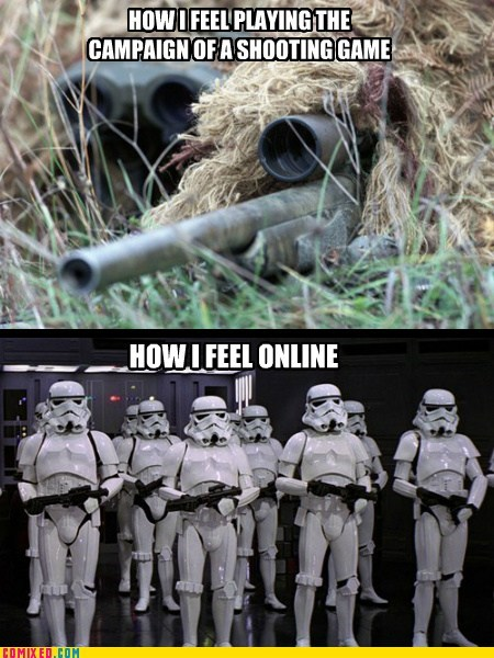 call of duty first-person shooters stormtrooper