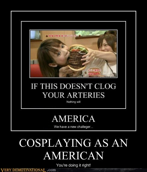 COSPLAYING AS AN AMERICAN You're doing it right!