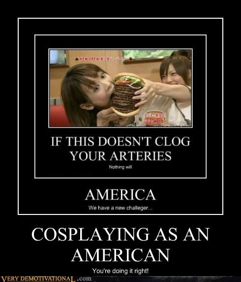 american burger cosplay Japan - 6541931520