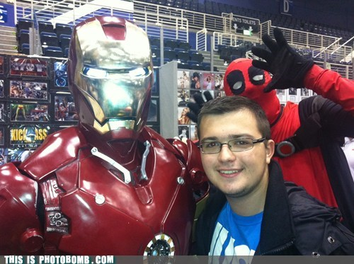 cosplay,costume,deadpool,iron man