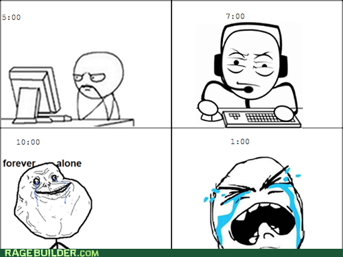 forever alone computer guy - 6542089728