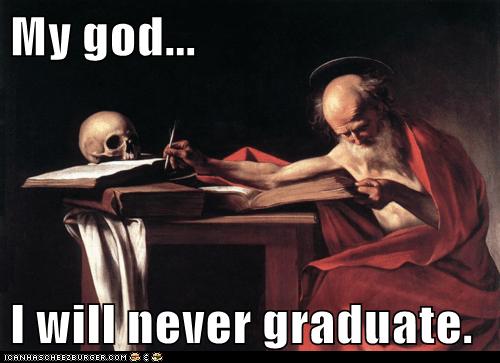 books graduate old school skull study - 6542094592