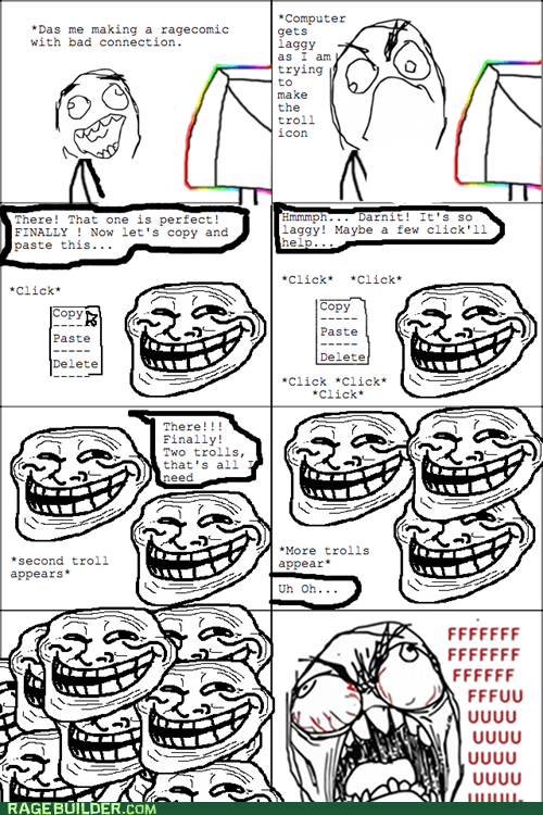 trollface,making rage comics