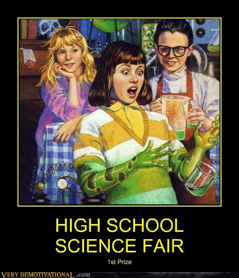 creepy science fair uh oh - 6542599936
