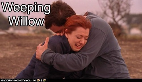 alyson hannigan Buffy the Vampire Slayer crying nicholas brendon weeping willow willow xander - 6543090688