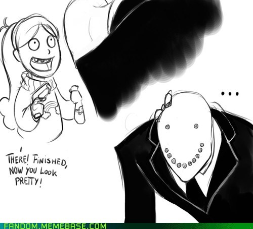 cartoons gravity falls slenderman - 6543182080
