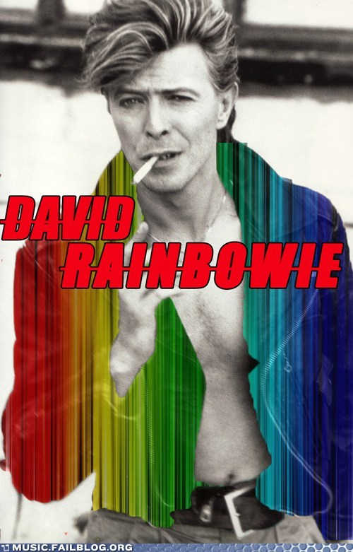 david bowie rainbow