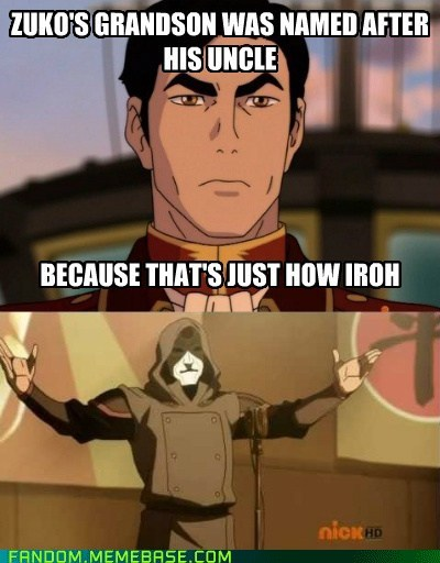 korra bad joke Amon cartoons - 6543954432