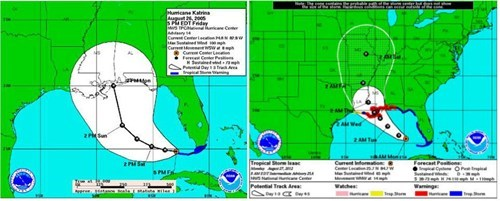 Anderson Cooper eerie hurricane map hurricane katrina tropical storm isaac - 6544046336