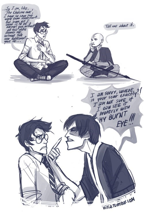 Avatar the Last Airbender avatar-the-last-airbende crossover Fan Art Harry Potter - 6544067840