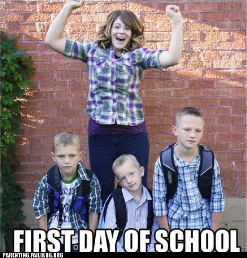 back to school mom sad kids - 6544339712
