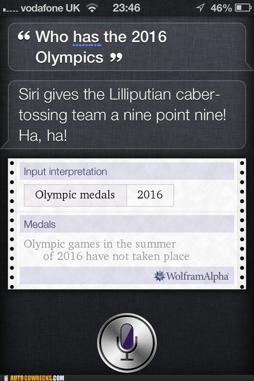 olympic medals,olympics,siri,so confused
