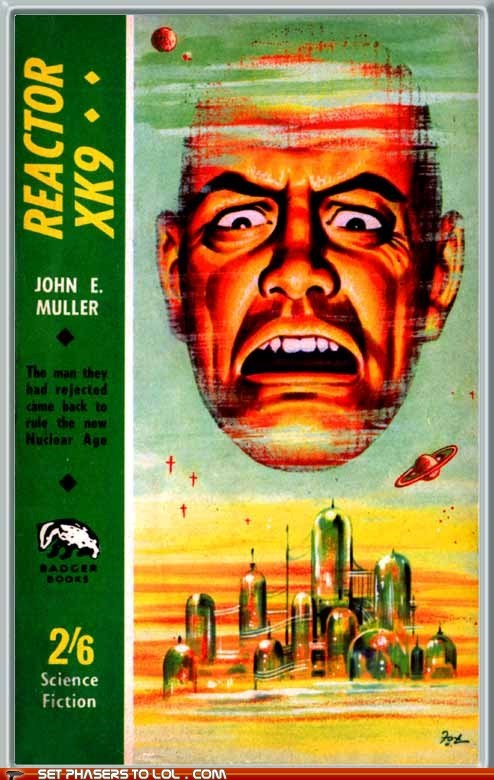 angry book covers books cover art floating head reactor science fiction wtf - 6544538880