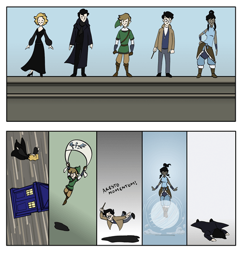 korra doctor who Fan Art Harry Potter legend of zelda Sherlock - 6544581888