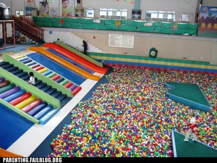 awesome,ball pit,fun zone