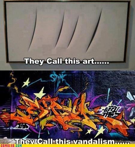 art Street Art vandalism - 6544677120