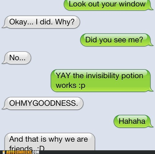 invisibility potion invisible iphone it works