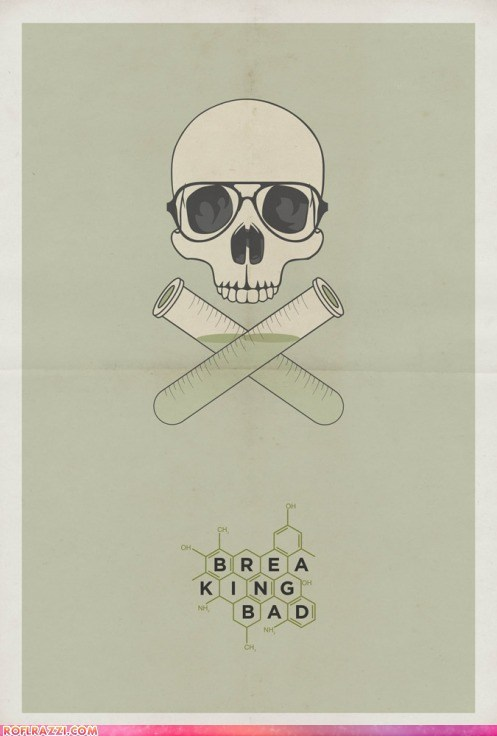 amc art breaking bad poster TV - 6544748032