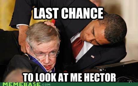 breaking bad gus fring Hector obama stephen hawking - 6544763392