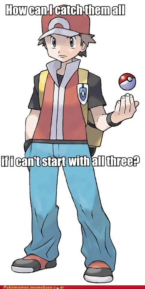 catch em all not fair Pokémon starters - 6544816896