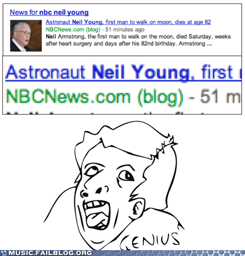 neil armstrong,neil young,obituary,typo