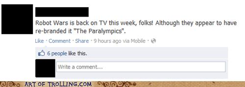 facebook,paralympics,robots