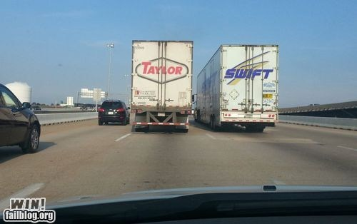 cars coincidence taylor swift truck - 6544884992