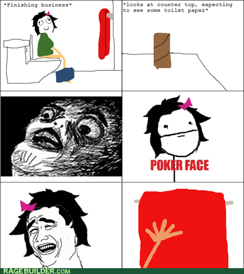 towels,poker face,toilet paper,please,bathroom