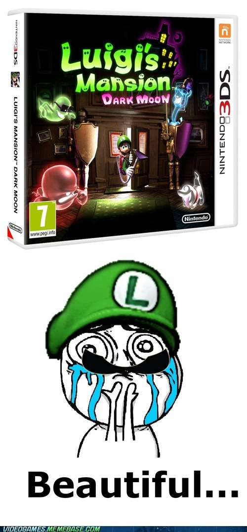 3DS luigi luigis-mansion nintendo weegee - 6545075712