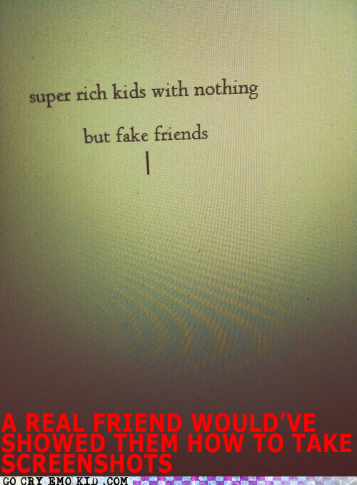 fake,friends,hipster edit,screenshot