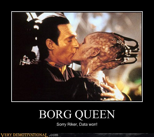 Borg Queen,Riker,Sexy Ladies,Star Trek