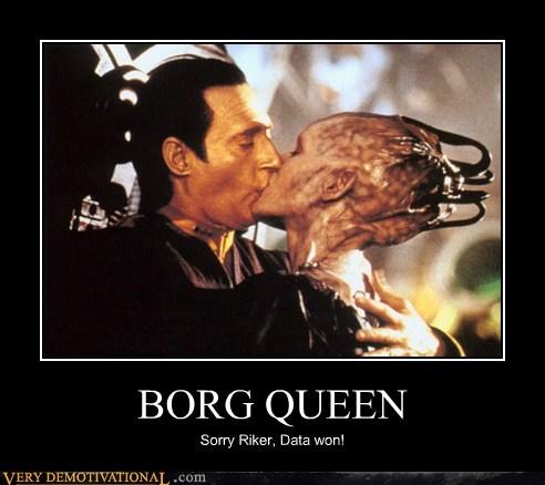 Borg Queen Riker Sexy Ladies Star Trek - 6545124096