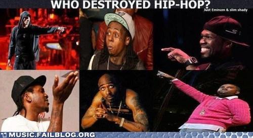 eminem hip hop kanye lil wayne tupac - 6545165312