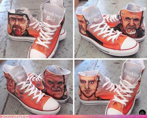 breaking bad converse fashion high tops portraits shoes sneakers walter white - 6545211648