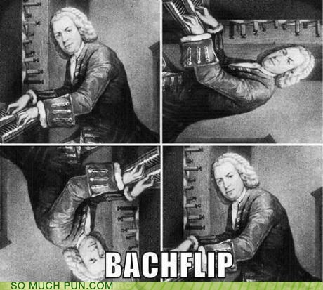 americanization Bach back backflip demonstration double meaning johann sebastian bach literalism