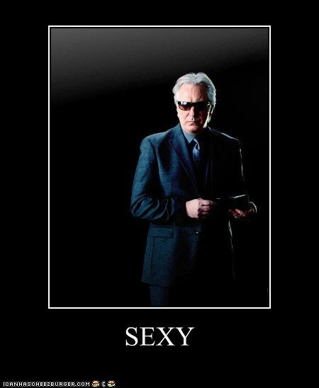 actor,Alan Rickman,celeb,demotivational,funny