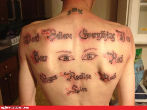 back tattoos eyes - 6545617408