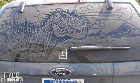 art,car,cars,dinosaur,dirt art,window