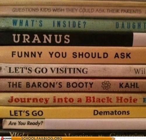 bargain books,barons-booty,lets go,looks naughty,uranus