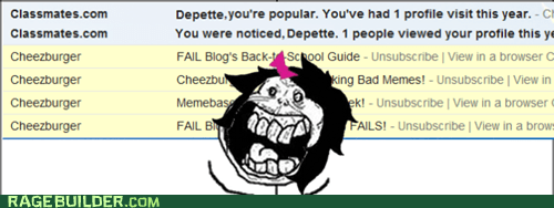 forever alone,popular,e-mail