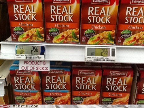 real stock out of stock chicken stock - 6547106816