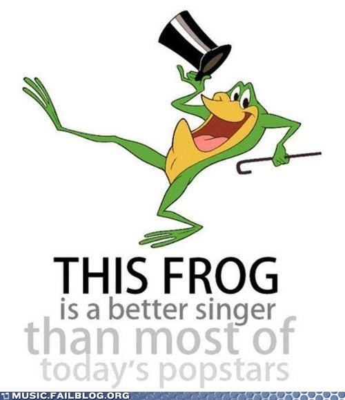 looney toons singing frog warner brothers - 6547163392