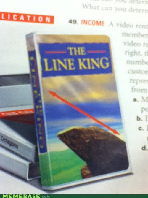 line,lion king,math,textbook