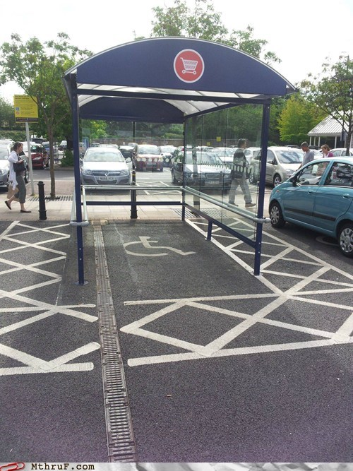 disabled spot,car return