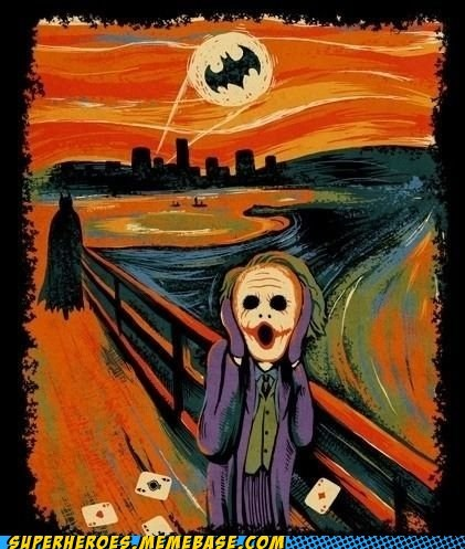 batman joker painting scream - 6547234048