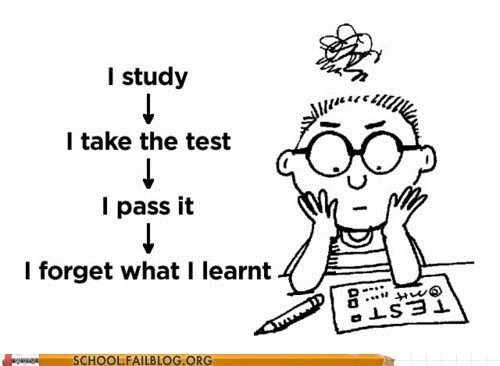 lather rinse repeat,studying,take the test,test humor