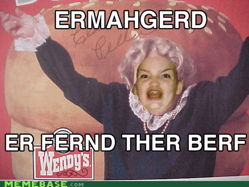 Ermahgerd fast food wendys wheres-the-beef - 6547287296