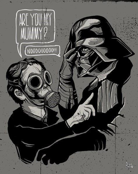 are you my mummy,crossover,doctor who,Fan Art,scifi,star wars